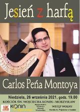 Konin. Carlos Roberto Peña Montoya da koncert w kościele św. Wojciecha