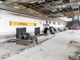 Demolka na lotnisku. To przebudowa terminala B