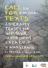 Napisz krótki tekst i zobacz go na wystawie. Jeszcze jest czas na zgłoszenia