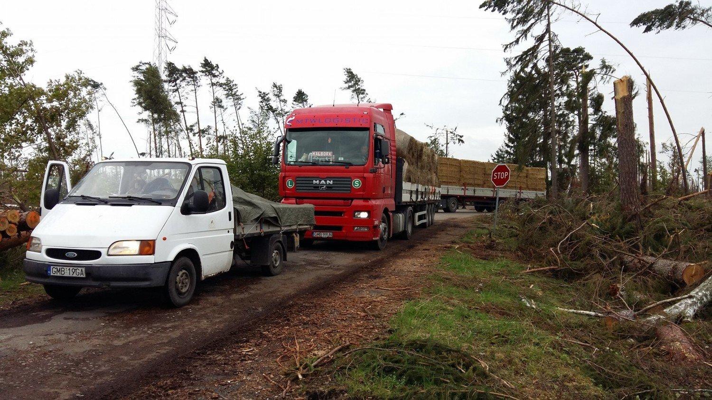 Super Trzeci transport dla Młynków. Mieszkańcy powiatu malborskiego JV29
