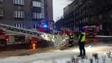 Pożar w Katowicach. Spłonęło mieszkanie przy ul. Kopernika w centrum ZDJĘCIA