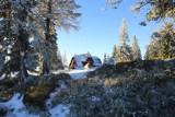 W Beskidach spadł śnieg [ZDJĘCIA]. Zrobiło się biało! Jesień w górach ze śniegiem? GOPR ostrzega