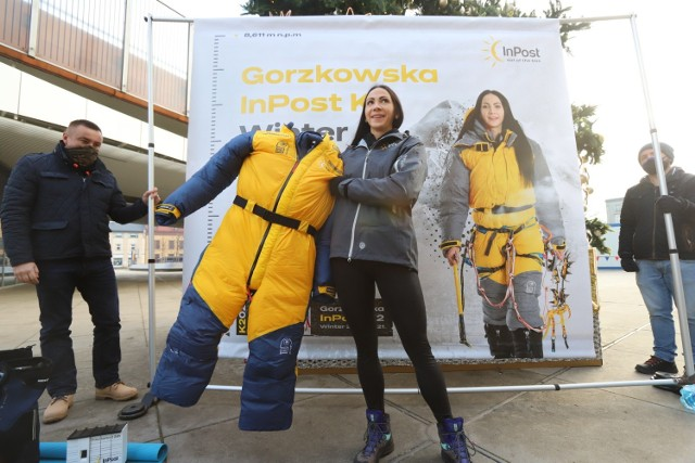 Magdalena Gorzkowska z Chorzowa chce jako pierwsza zdobyć K2 zimą  Zobacz kolejne zdjęcia. Przesuwaj zdjęcia w prawo - naciśnij strzałkę lub przycisk NASTĘPNE