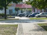 Centrum Szadku z ...wodotryskiem [zdjęcia]
