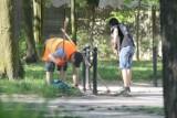 Krotoszyński park pięknieje. Prowadzone są prace porządkowe [ZDJĘCIA]