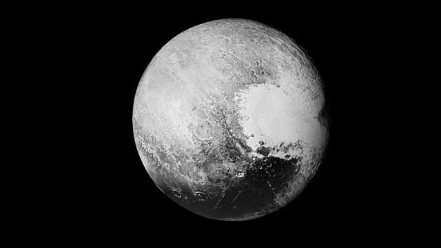 Pluton - Tomasza Mielnika z cząstkowych zdjęć NASA