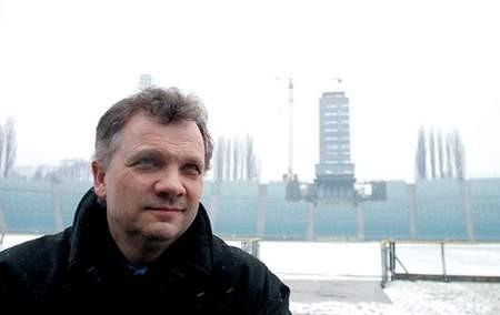 Los Stadionu Śląskiego powierzono Jerzemu Górze. Dyrektor zdaje sobie sprawę z odpowiedzialności. Fot: ARKADIUSZ GOLA