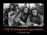 Nowe MEMY - TOP 10 nielegalnych zgromadzeń. Memy w czasie koronawirusa pomagają rozładować lęk i napięcie - 28.04.2020