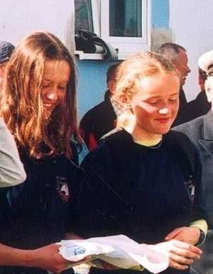 Kuzynki Luiza i Monika Sząszor dobrze zaprezentowały się na regatach w Pucku. Fot. Radosław Osiński