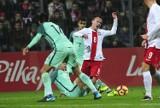 Reprezentacje do lat 20: Polska - Portugalia 1-2.  Towarzyski mecz w Kluczborku