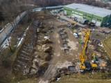 Krośnieński Holding Komunalny modernizuje plac kompostowni przy Zakładzie Unieszkodliwiania Odpadów [ZDJĘCIA]