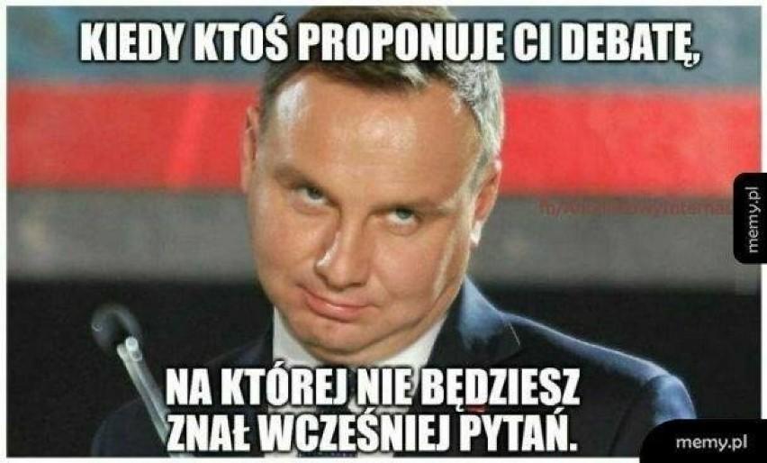 Wybory 2020: Duda vs. Trzaskowski. Memy po debacie i przed...