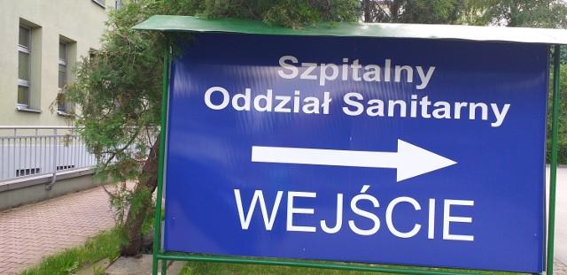 Koronawirus w Małopolsce - szpital w Myslenicach