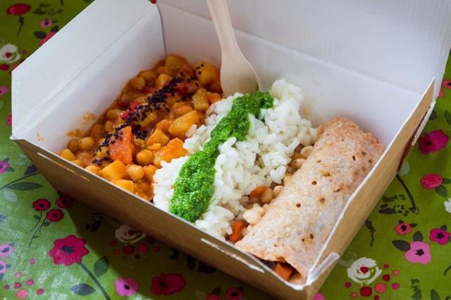Wielopole 3  Restauracja bezglutenowa serwująca dania wegańskie i wegetariańskie. Podają również zdrową i nieprzetworzoną żywność.