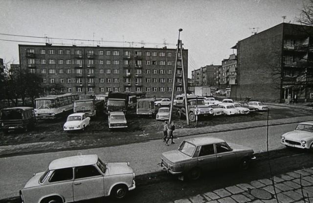 Rybnik na czarno-białych zdjęciach z lat 60,70,80-tych XX wieku