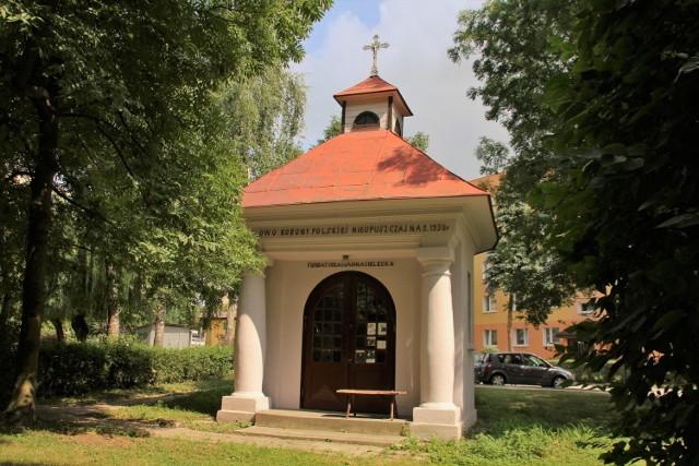 Kapliczka na ul. Hrubieszowskiej w Zamościu