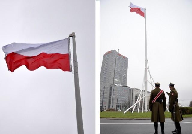Zawieszenie flagi na wielkim maszcie to pierwsze wydarzenie w ...