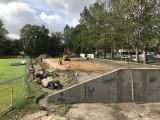 Przebudowa stadionu Gryfa Słupsk. Rozpoczął się drugi etap prac [ZDJĘCIA]