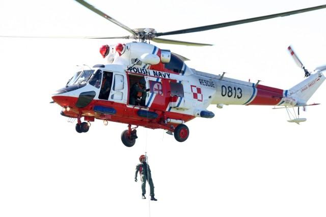 Śmigłowce ratownicze Marynarki Wojennej RP wielokrotnie ratowały poszkodowanych na morzu. Nie inaczej było 28 listopada 2015 roku.