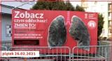 """""""Płuca"""" Polskiego Alarmu Smogowego w Brzeszczach. Instalacja pokazała, jak fatalna jest jakość powietrza w gminie [ZDJĘCIA]"""
