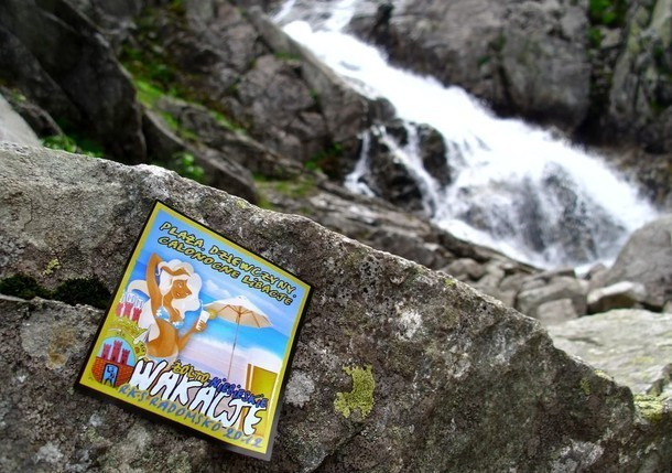 RKS Radomsko on Tour 2012. Przy wodospadzie Siklawa w Tatrach