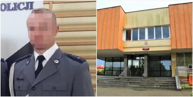 Proces byłego już policjanta toczył się w Sądzie Rejonowym w Łęczycy