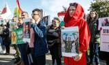 """""""Rzeszów – Rożawa – wspólna sprawa!"""" – protest przeciwko tureckiej inwazji na syryjski Kurdystan"""