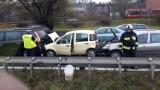 Trasa DTŚ zakorkowana na Katowice i na Gliwice. Wypadek oraz kolizje zablokowały drogę w obu kierunkach