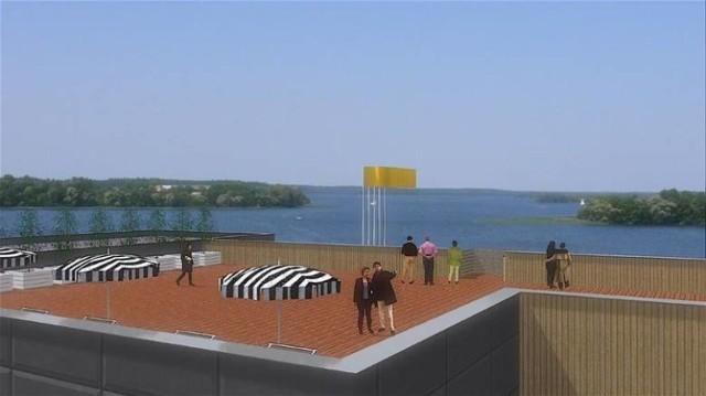 W tym roku doczekamy się ukończenia Centrum Sportów Wodnych nad jeziorem Małym (J. Czaple) w Żninie.