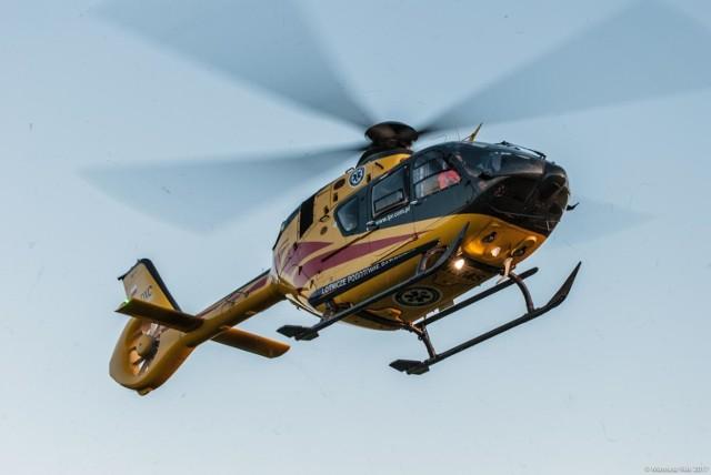 Ratownicy z bazy LPR w Opolu w akcji