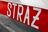Akcja strażaków na ulicy Mostowej w Międzychodzie. Podejrzenie zatrucia tlenkiem węgla u dwóch osób