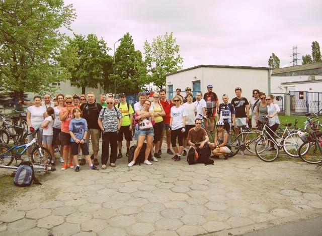 W poprzedniej edycji pikniku udział wzięło niemal 50 rowerzystów