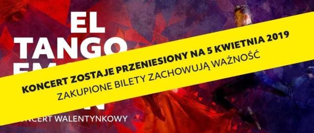Filharmonia Kaliska - koncert walentynkowy przeniesiony na 5 kwietnia