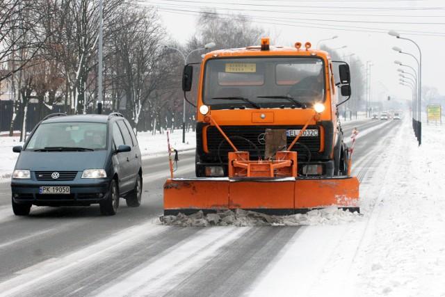 Kary za odśnieżanie ulic Łodzi