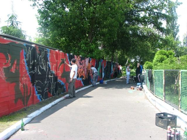 Graffiti w Czeladzi