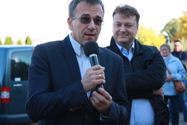 Starosta Wojciech Kociński zapowiadał otwarcie oddziału paliatywnego w sycowskim szpitalu w miejscu dawnej interny