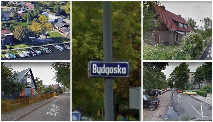 Ulica Bydgoska w różnych miastach to zupełnie inna okolica....
