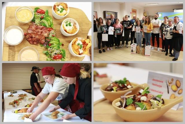 Rozstrzygnięcie konkursu kulinarnego w Zespole Szkół Chemicznych we Włocławku, 6 października 2021.