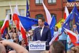 Kandydat na prezydenta Rafał Trzaskowski spotkał się z wyborcami w Chojnicach