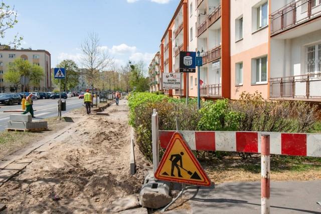 W 2021 roku wyremontowane zostaną chodniki w 22 lokalizacjach w Bydgoszczy.
