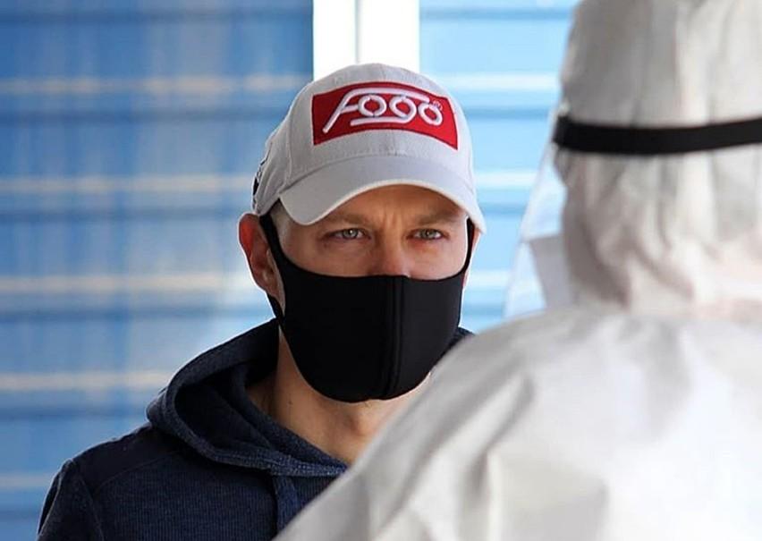 Jarosław Hampel, tuż przed testem na COVID-19