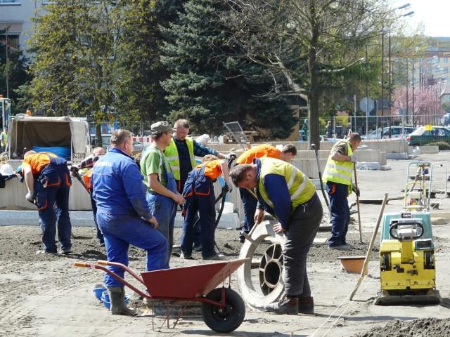 Roboty na Placu Narutowicza potrwają do połowy czerwca
