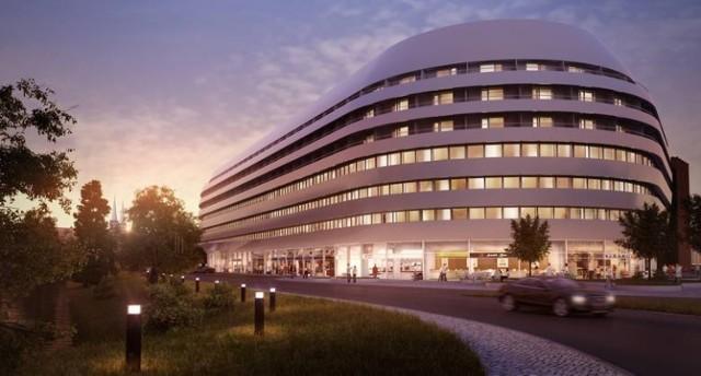 Wrocławianie zdążyli się już przyzwyczaić do wizualizacji pokazujących nowoczesny biały budynek o owalnych kształtac