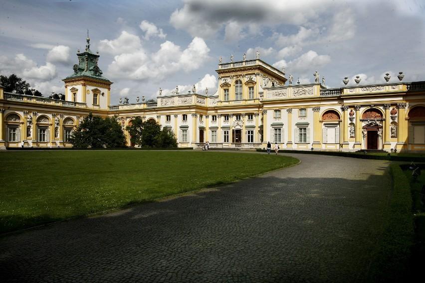 Rezydencje Królewskie Za Darmo Zamek łazienki I Pałac W