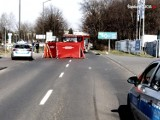 Śmiertelny wypadek motocyklisty w Rudzie Śląskiej. Nie żyje kierowca, pasażerka ciężko ranna