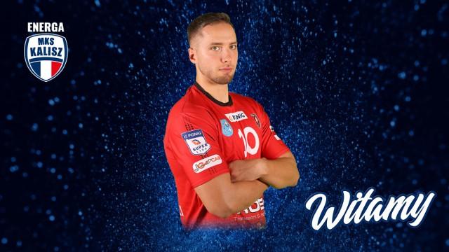 Kacper Adamski nowym zawodnikiem Energa MKS Kalisz
