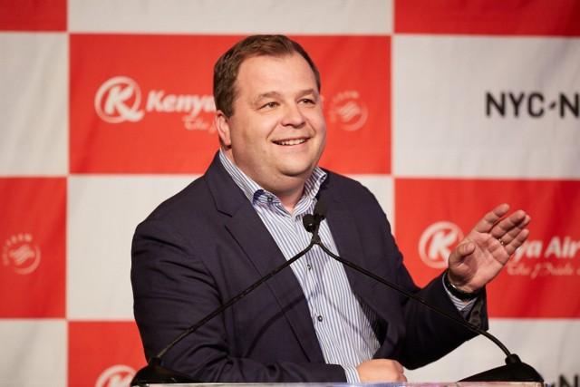 Sebastian Mikosz, wiceprezes IATA – Międzynarodowego Stowarzyszenia Linii Lotniczych w Genewie; były prezes PLL LOT