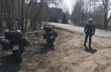 Powiat świecki. Policjanci wyjechali motocyklami na patrole