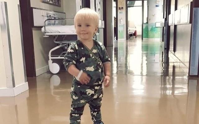 Mały wielki wojownik Leoś Saj z Bydgoszczy dzięki ogromnej hojności internautów poleci do Stanów Zjednoczonych, gdzie w UPMC Children's Hospital of Pittsburgh profesor Jose Da Silva podejmie się operacji serca Leosia!