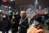 Strajk kobiet w Katowicach się nie kończy. Protestujący ponownie wyszli na ulice